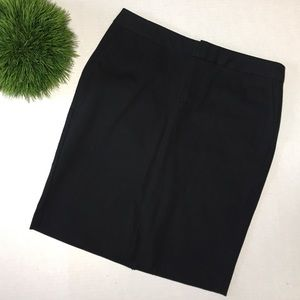 GAP Black Career Straight Pencil Skirt Stretch